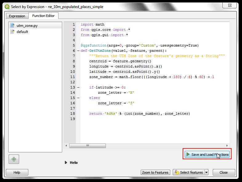 Using Custom Python Expression Functions Qgis Tutorials