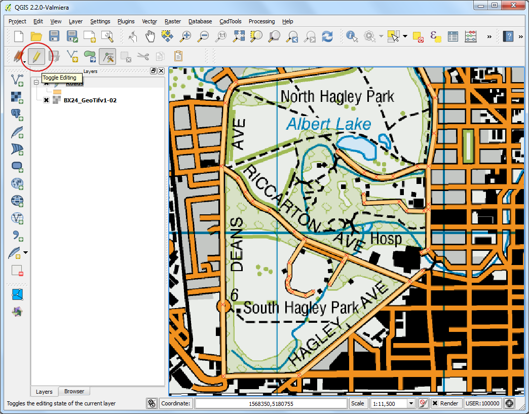 Raster Mosaicing and Clipping — QGIS Tutorials and Tips