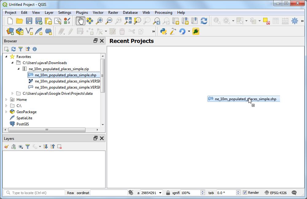 Getting Started With Python Programming (QGIS3) — QGIS
