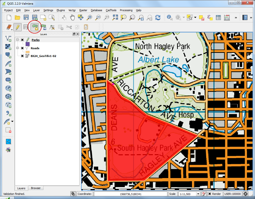 Writing Python Scripts for Processing Framework — QGIS
