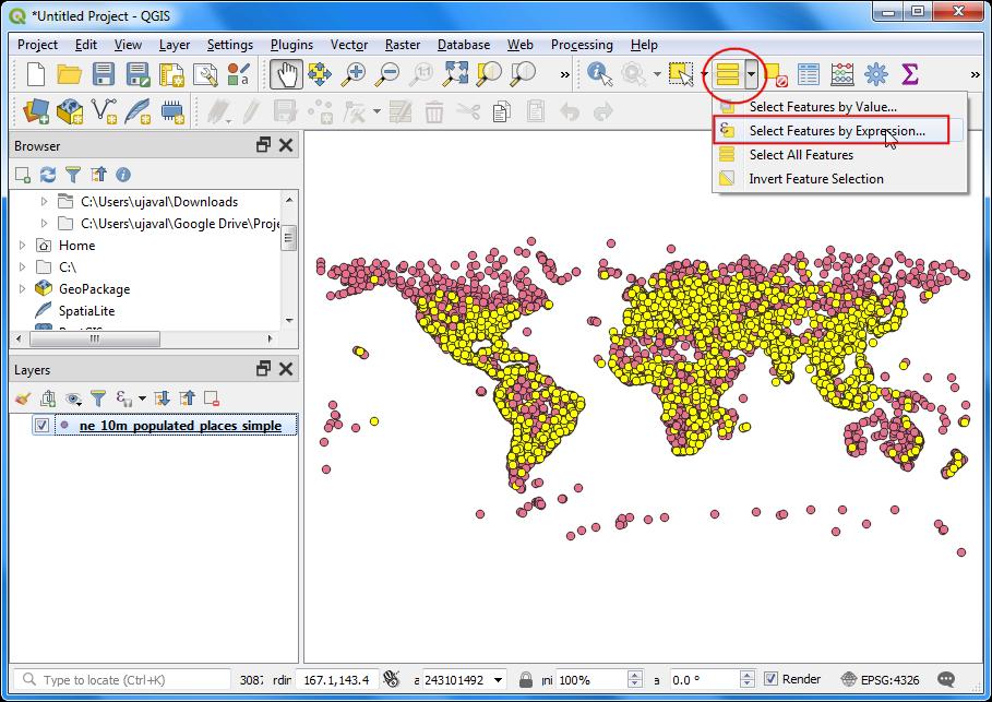 Cercare e scaricare i dati di OpenStreetMap — QGIS Tutorials