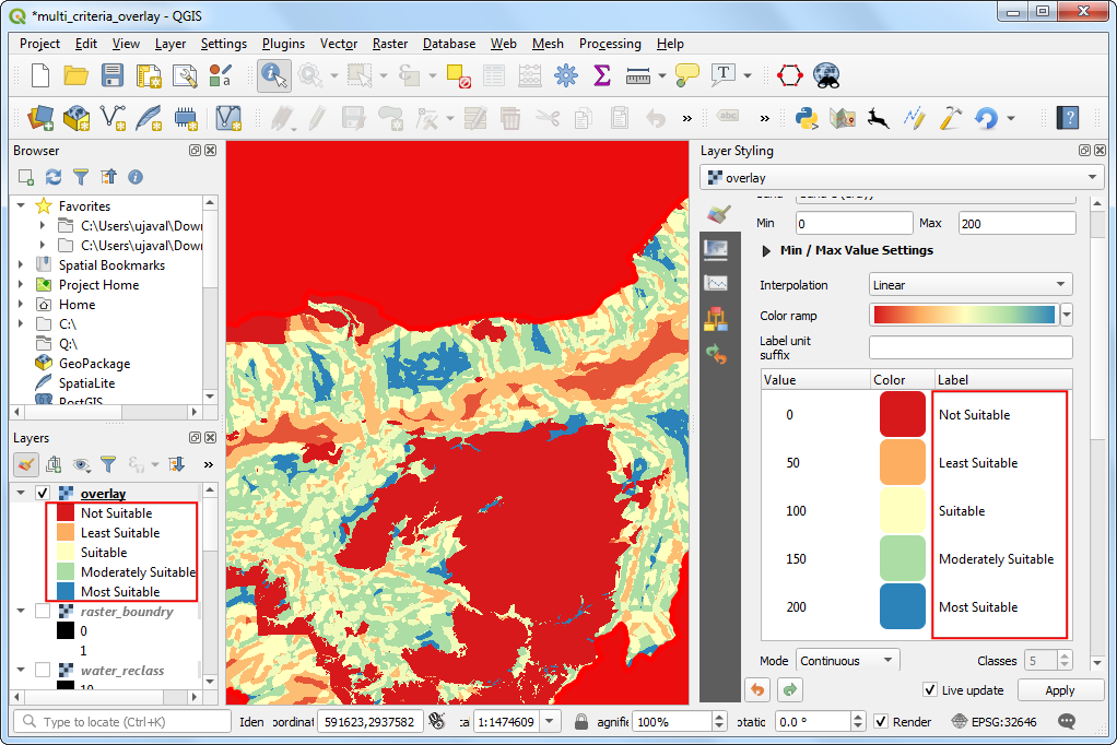how to create raster layer in qgis