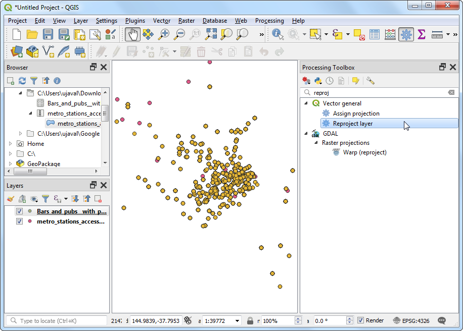 Automating Complex Workflows using Processing Modeler (QGIS3