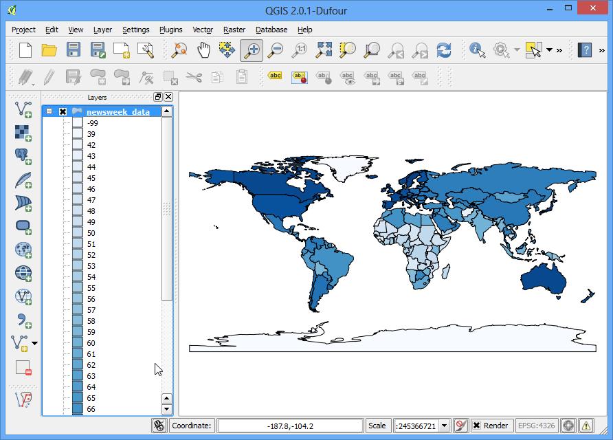 Making a Map — QGIS Tutorials and Tips