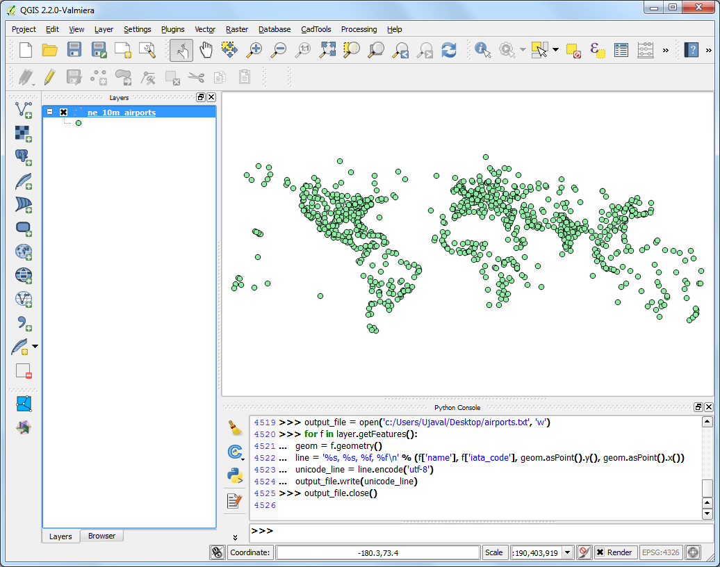 Working with Projections — QGIS Tutorials and Tips