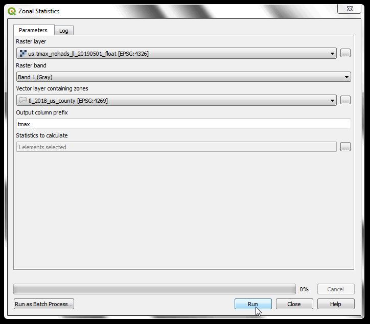 Batch Processing using Processing Framework (QGIS2) — QGIS