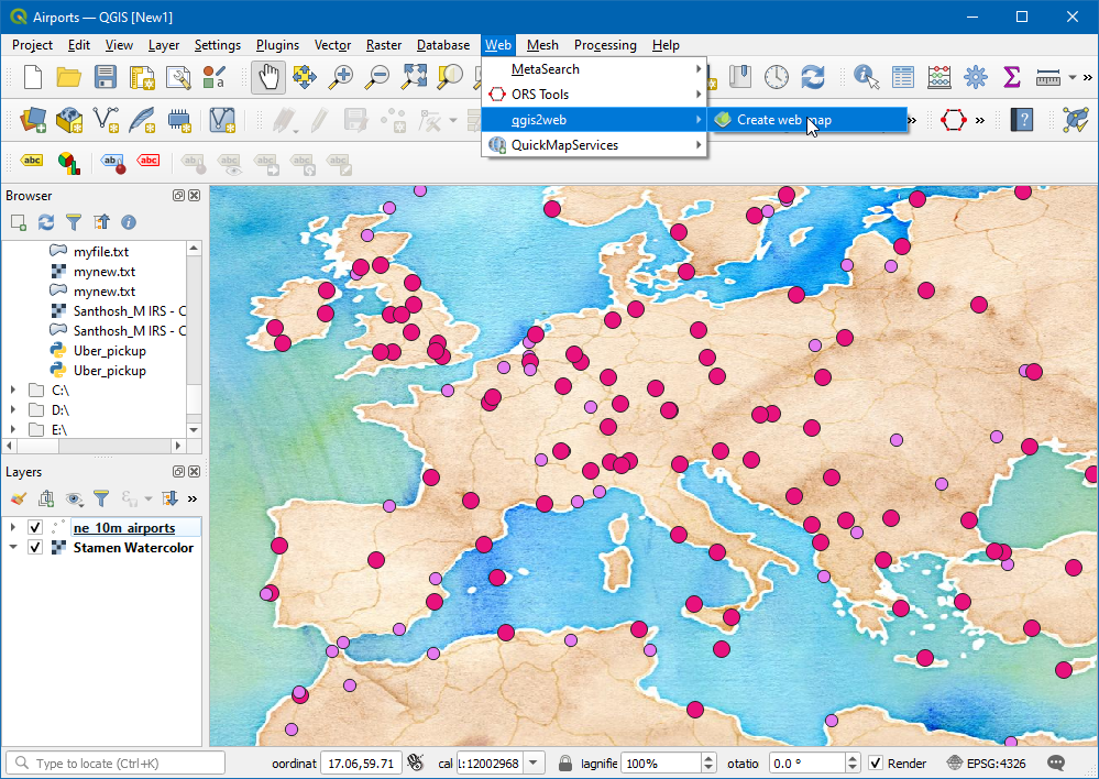Creating Heatmaps — QGIS Tutorials and Tips