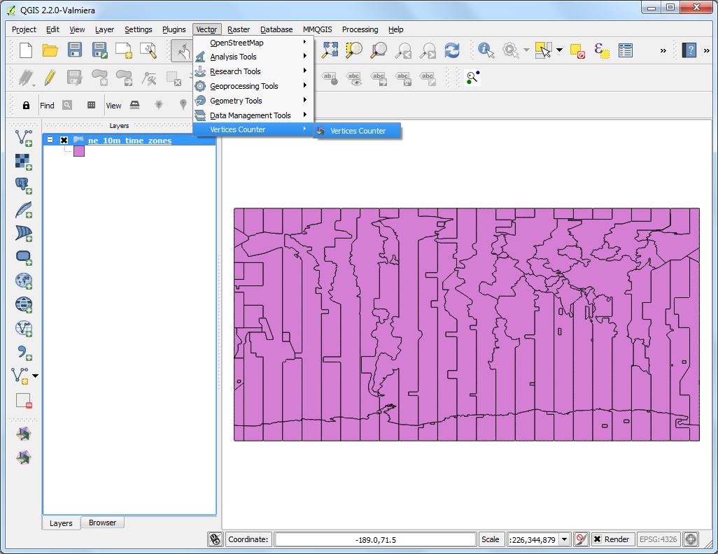 Writing Python Scripts for Processing Framework — QGIS
