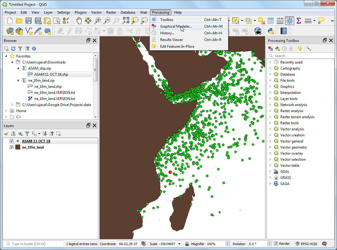 Sampling Raster Data using Points or Polygons (QGIS3) — QGIS