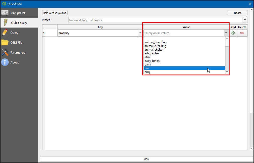 Searching and Downloading OpenStreetMap Data (QGIS3) — QGIS