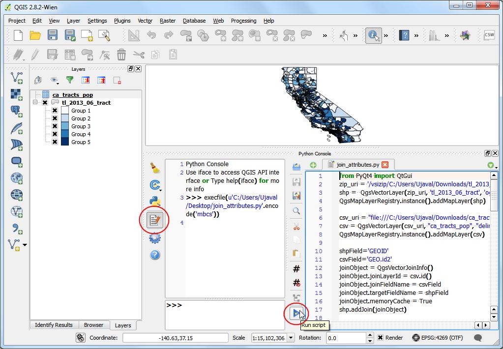 Running and Scheduling QGIS Processing Jobs — QGIS Tutorials