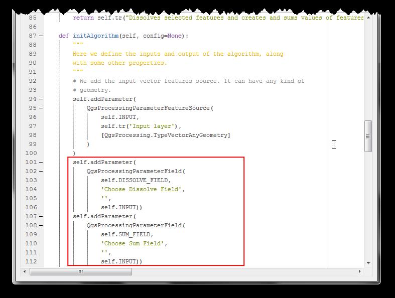 Writing Python Scripts for Processing Framework (QGIS3) — QGIS