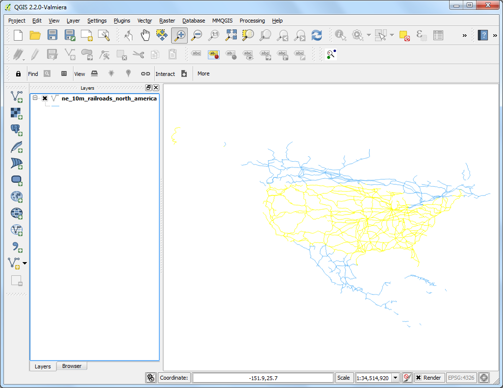 Searching and Downloading OpenStreetMap Data — QGIS