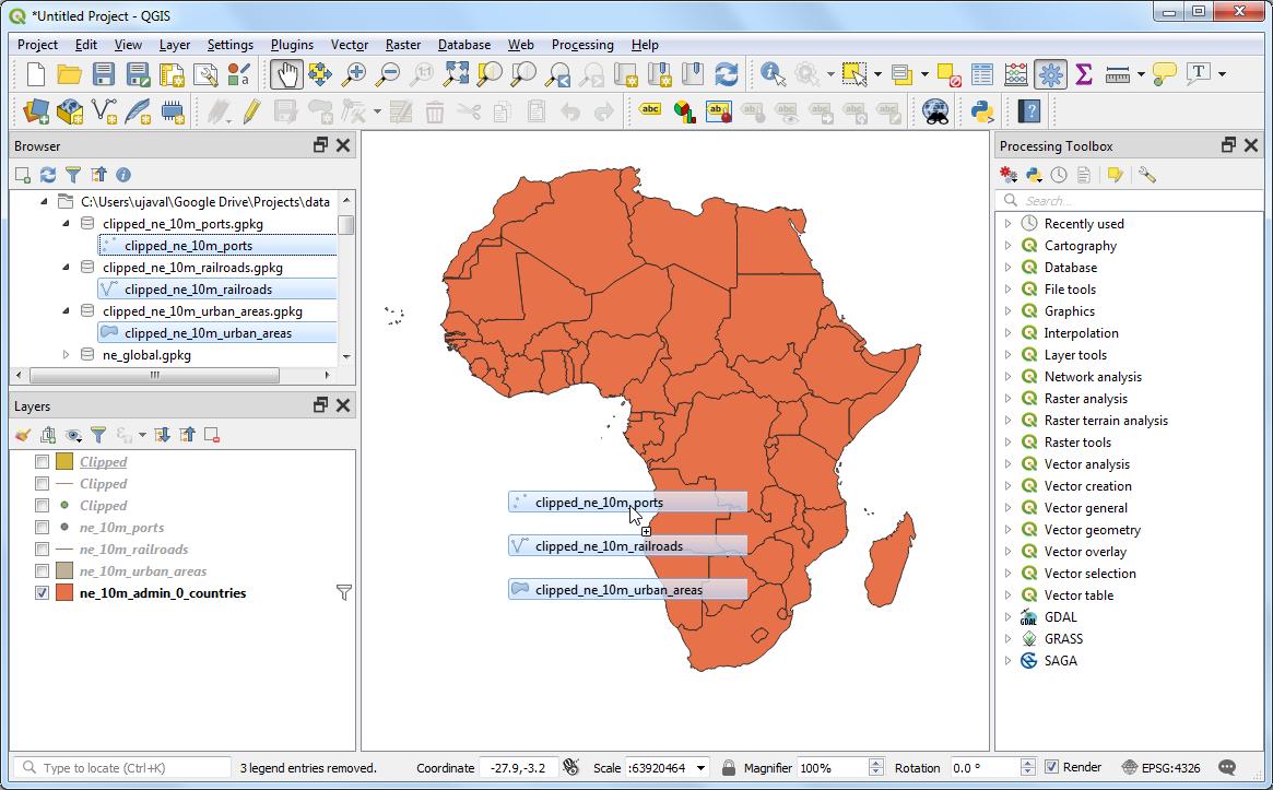 Making a Map (QGIS3) — QGIS Tutorials and Tips